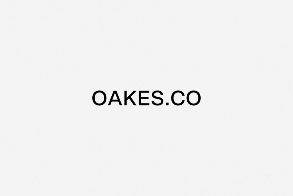 Personal Branding - OAKES.CO